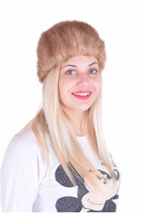 Дамска шапка от естествен косъм