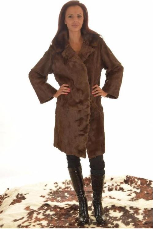 Дамско палто от естествен косъм. 130.00
