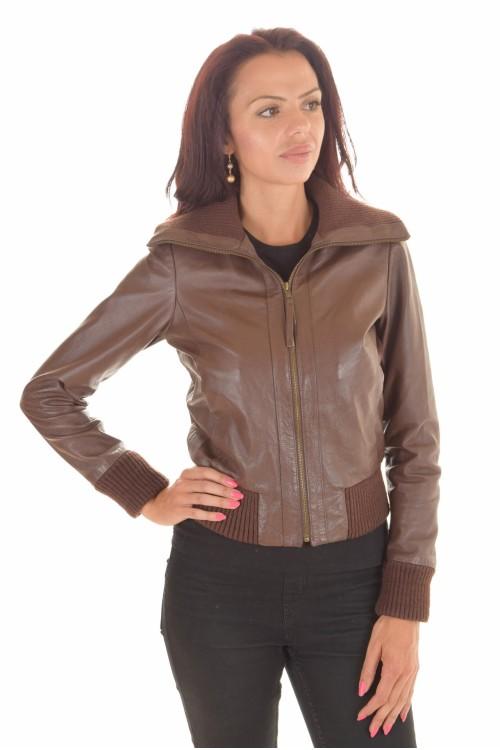 sale retailer 0de43 22aed Braune Jacke für Damen