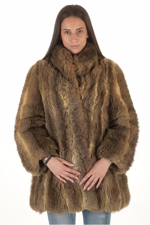 Палто от естествен косъм 50.00