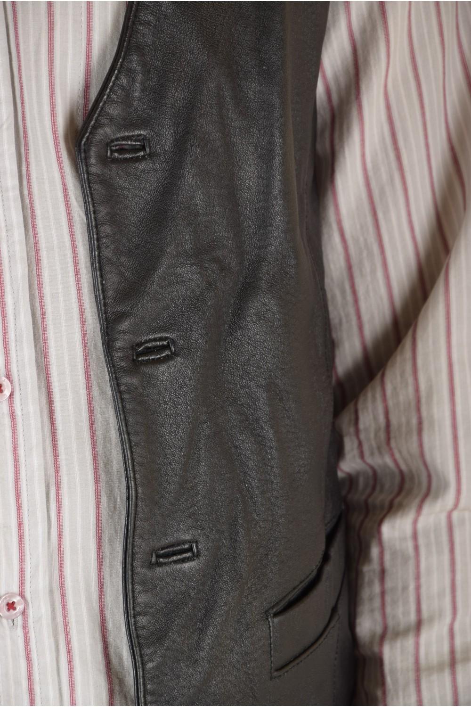 88398248d76 Κλασάτο ανδρικό δερμάτινο γιλέκο | furlando - leather and fur.